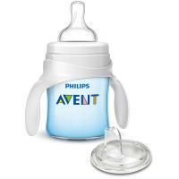 Philips Avent, My First Transition Cup, Blue - 4 Ounce
