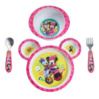 TFY, Disney Baby Minnie Mouse 4-Piece Feeding Set