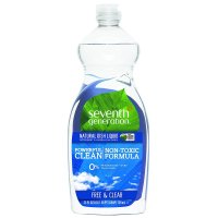 Seventh Generation, Dish Liquid, Free & Clear - 25 fl oz