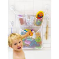 Tub Cubby, Bath Toy Organizer,The Original Tub Cubby, Quick Dry Bathtub Mesh Net - Large
