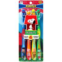 Dr. Fresh, Peanuts Snoopy Toothbrush For Kids - 4 per Pack