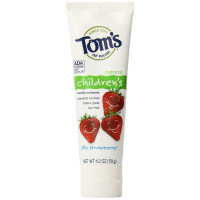 Tom's of Maine, Anticavity Fluoride Children's Toothpaste, Silly Strawberry - 4.2 Ounce