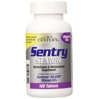 21st Century, Sentry Senior Women's 50+ - 100 Tablets