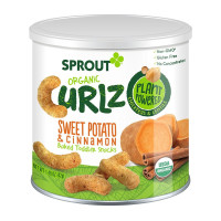 Sprout, Organic Curlz Baked Toddler Snacks - 1.48 oz (42 g)