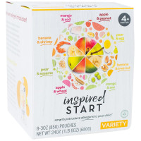 Inspired Start, Variety Pack for 4 months up - 3 oz. (Pack of 8)