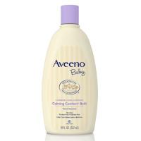 Aveeno Baby, Calming Comfort Bath Wash, Tear Free, Lavender & Vanilla - 18 oz. (532 ml)