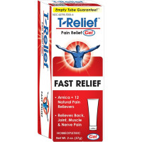 MediNatura, T-Relief, Arnica+12, Pain Relief Gel - 2 oz (57 g)