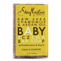 Shea Moisture, Baby Eczema Bar Soap, Raw Shea Chamomile & Argan Oil - 5 oz (141 g)