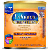 Enfagrow, PREMIUM Toddler Transitions Formula Powder (9~18 Months) - 20 Ounce Can