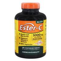 American Health, Ester-C, 1000 mg with Citrus Bioflavonoids - 180 Veggie Tabs