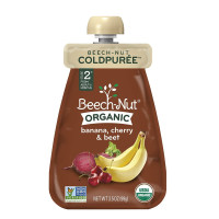 Beech-Nut, Organic Baby Food, Coldpurée Pouch, Stage 2 - 3.5 Ounce (Pack of 12)