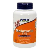 Now Foods, Melatonin, 5 mg - 180 Veg Capsules