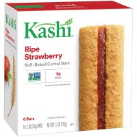 Kashi, TLC Ripe Strawberry Cereal Bars, 6 Bars - 7.2 oz (210 g)