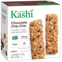Kashi, Crunchy Chia Bar, Chocolate Chip, 10 Count  - 7 oz (200 g)