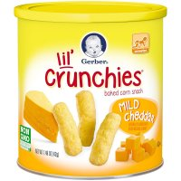 Gerber Graduates, Lil' Crunchies for Crawler - 1.48 oz (42 g)  *Select Flavor