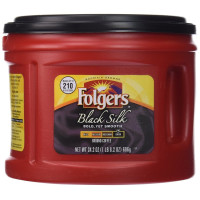 Folgers, Black Silk, Dark Roast Ground Coffee - 24.2 Oz (686 g)