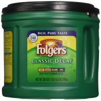 Folgers, Classic Decaf Ground Coffee, Medium Roast - 30.5 Oz (865 g)