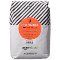 AmazonFresh, Colombia, 100% Arabica Coffee, Medium Roast, Whole Bean - 32 oz (907 g)