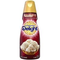 International Delight, Cold Stone Creamery Sweet Cream Coffee Creamer, Quart - 32 oz