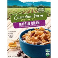 Cascadian Farm, Organic Breakfast Cereal, Raisin Bran - 12 oz (340 g)