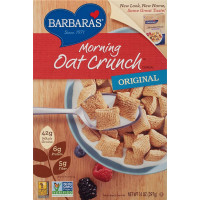 Barbara's Bakery, Morning Oat Crunch Cereal, Original - 14 oz (397 g)