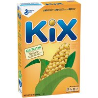 General Mills, Kix, Crispy Corn Puffs Breakfast Cereal - 12 oz (340 g) Box