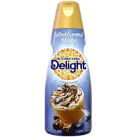 International Delight, Salted Caramel Mocha Coffee Creamer, Quart - 32 oz (946 ml)