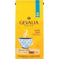 Gevalia, French Roast, Dark, Ground Coffee - 12 Oz (340 g)
