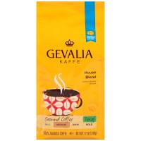 Gevalia, House Blend, Decaf Coffee, Medium Roast, Ground - 12 Oz (340 g)