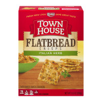 Keebler, Town House, Flatbread Crisps Italian Herb Crackers - 9.5 oz (269 g)