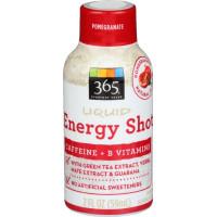 365 Everyday Value, Liquid Energy Shot, Pomegranate - 2 fl oz (59 g)