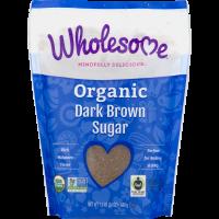 Wholesome, Organic Dark Brown Sugar - 24 oz (681 g)