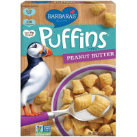 Barbara's Bakery, Puffins Cereal, Peanut Butter - 11 oz (312 g)