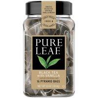 Pure Leaf, Hot Tea Bags, Black Tea with Vanilla 16 Count - 1 oz (30.4 g)