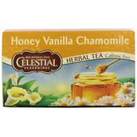 Celestial Seasonings, Herbal Tea, Honey Vanilla Chamomile, Caffeine Free, 20 Tea Bags - 1.