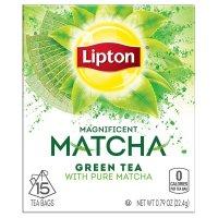 Lipton, Magnificent Matcha, Green Tea Bags, Pure Matcha 15 ct - 0.79 oz (22.4 g)
