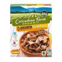 Cascadian Farm, Organic Whole Grain Cereal, Cinnamon Crunch - 9.2 oz (260 g)