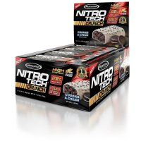 Muscletech, Nitro Tech Crunch Bars, 12 Bars, 2.29 oz - (65 g) each  *Select flavor