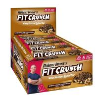 Chef Robert Irvine, Fit Crunch Protein Bars, Chocolate Chip Cookie Dough, 12 Bars - 3.1 oz
