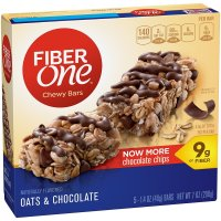 Fiber One, Bar Oats & Chocolate 5 Count - 1.4 oz (40 g) each