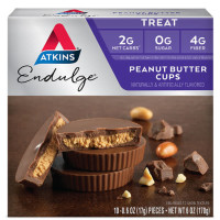 Atkins, Endulge, Peanut Butter Cups, 5 Packs - 1.2 oz (34 g) each