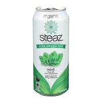 Steaz, Organic Iced Green Tea - 16 oz (473 ml)  *Select flavor