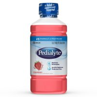 Pedialyte, Electrolyte Solution, Electrolyte Drink, Strawberry, Liquid - 35 oz (1L)  *Sele