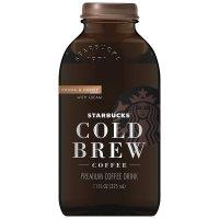 Starbucks, Cold Brew Black Coffee, Cocoa & Honey with Cream - 11 oz (325 ml)