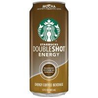 Starbucks, Doubleshot Energy, Mocha - 15 oz (443 ml)