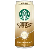 Starbucks, Double Shot Energy Drink, Vanilla - 15 oz (443 ml)