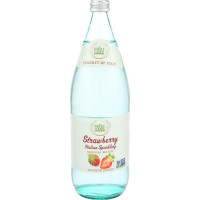 Whole Foods Market, Italian Sparkling Mineral Water, Strawberry - 33.8 fl oz (1 Liter)