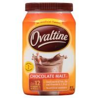 Ovaltine, Chocolate Malt - 12 oz (340 g)