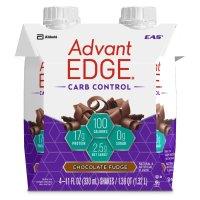 EAS, AdvantEDGE Carb Control Ready-to-Drink Protein Shake, 4 Count - 11 fl.oz, (330 ml) ea