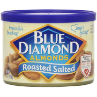 Blue Diamond Almonds, Roasted Salted - 6 oz (170 g)